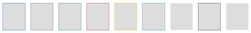 آموزش تعیین رنگ خطوط حاشیه با کلاس border در بوت استرپ 4