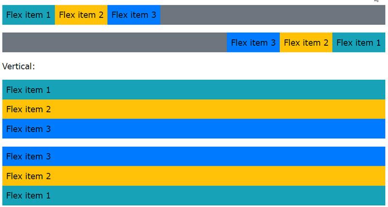 آموزش کار با Flex در Bootstrap 4