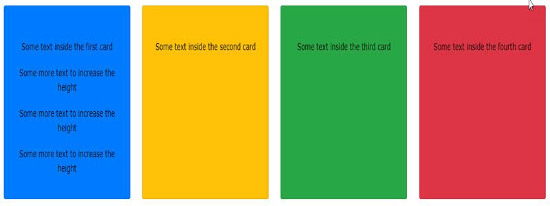 آموزش ساخت یک دسته کارت Deck در Bootstrap 4
