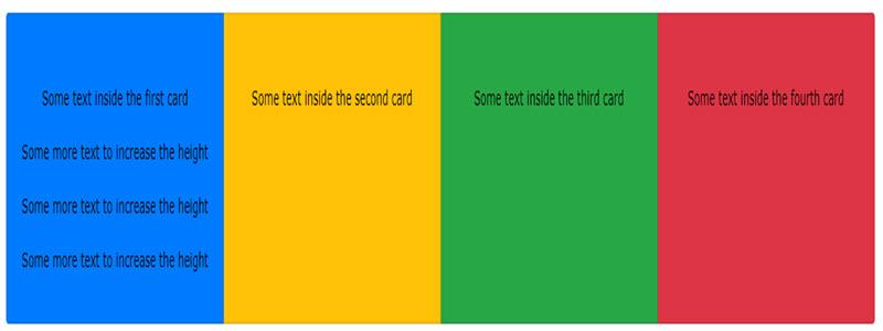 آموزش ساخت گروهی از کارت ها Card Groups