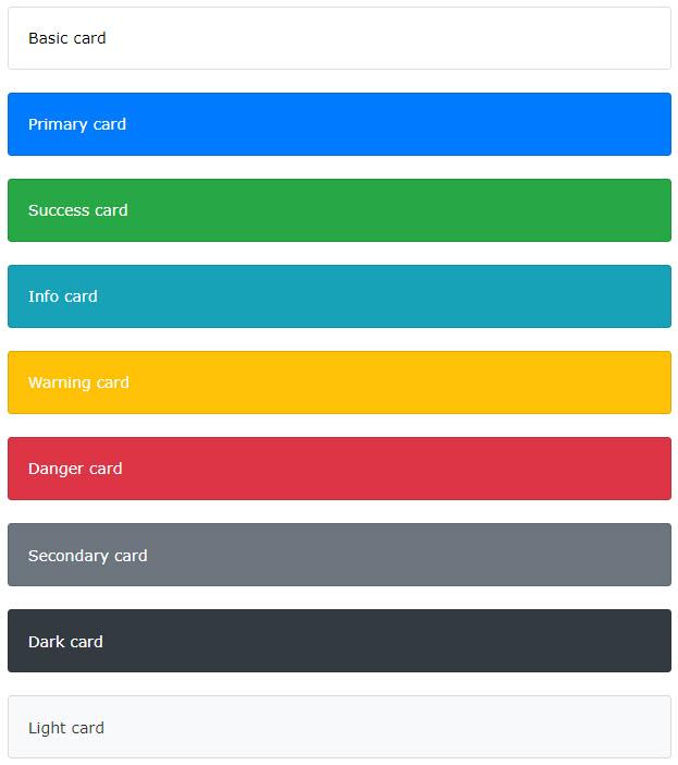 آموزش استفاده از کلاس های رنگی متنی در کارت بوت استرپ 4