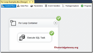 For-Loop-Container-in-SSIS-11