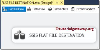 SSIS-FLAT-FILE-Destination-1