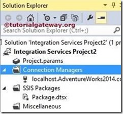 SSIS-Project-Level-Connection-Manager-8