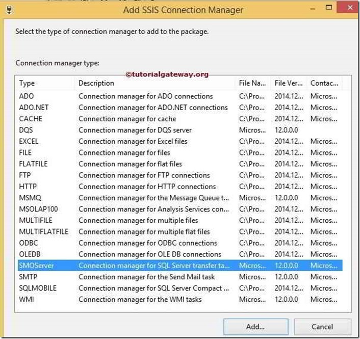 SSIS-SMO-CONNECTION-MANAGER-1