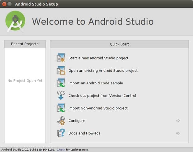 آموزش کار با اندروید استودیو - Android studioساخت پروژه جدید در اندروید ...