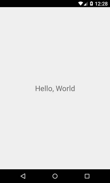 افزودن React Native به application android