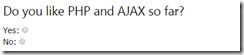 نظرسنجی با AJAX 01