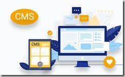 web design using CMS